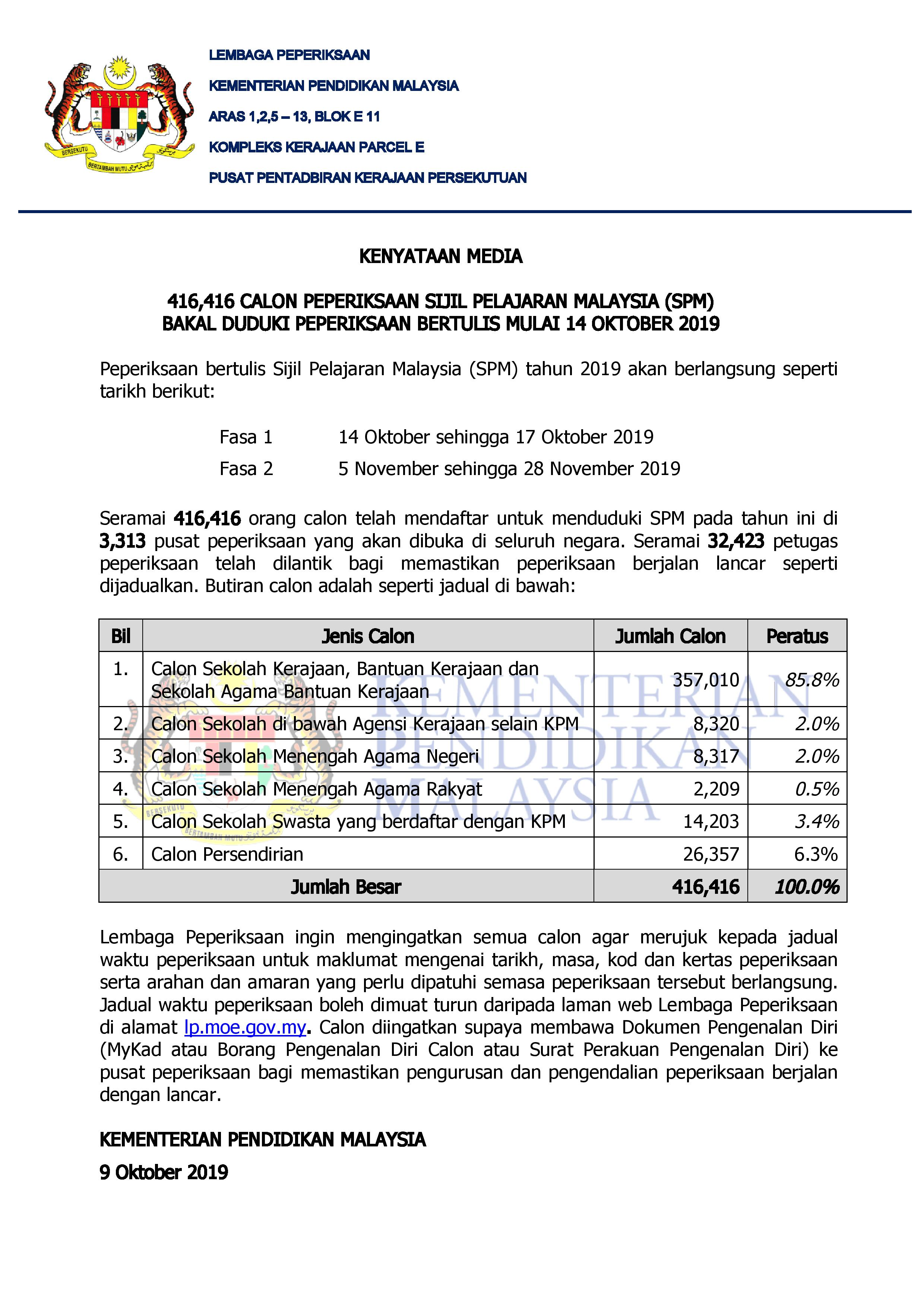 KENYATAAN MEDIA LP SPM 2019 LATEST page 001