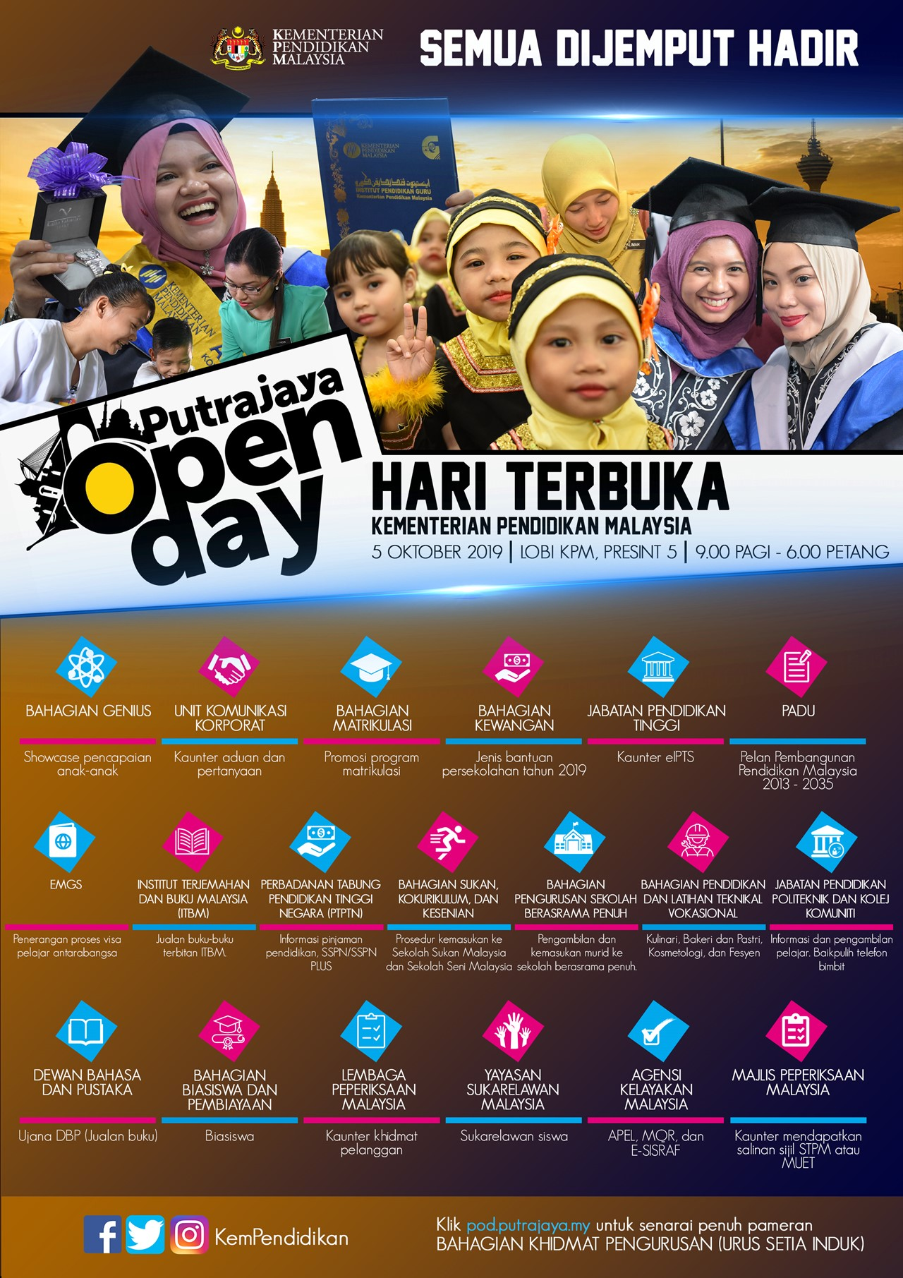 Putrajaya Open Day HD
